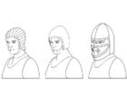 Kleurplaat helmen