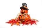 Kleurplaat Herfst - Halloween