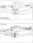 Kleurplaat Het kasteel in 1320 en vandaag