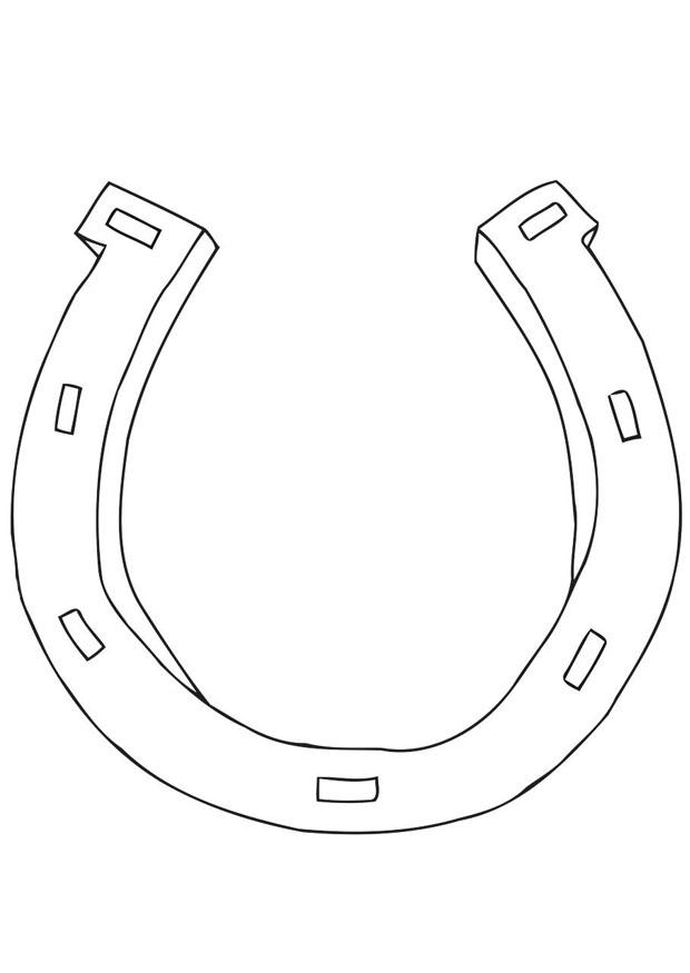 free coloring pages of horseshoes - photo#8