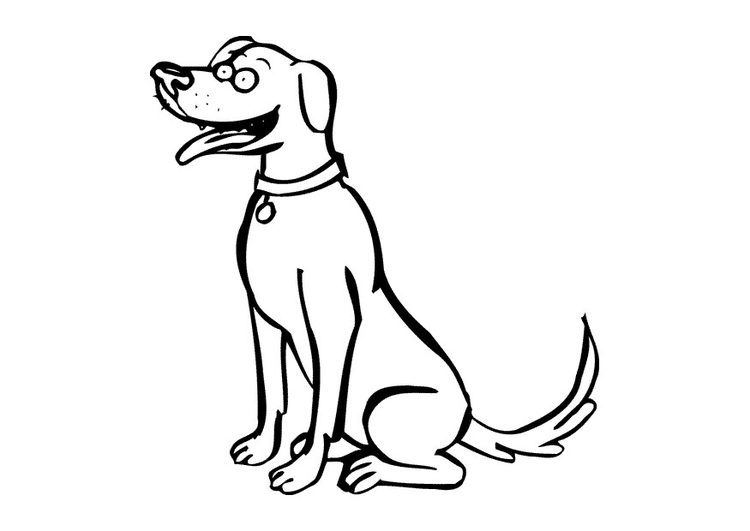 Kleurplaten Printen Honden.Kleurplaat Hond Gratis Kleurplaten Om Te Printen