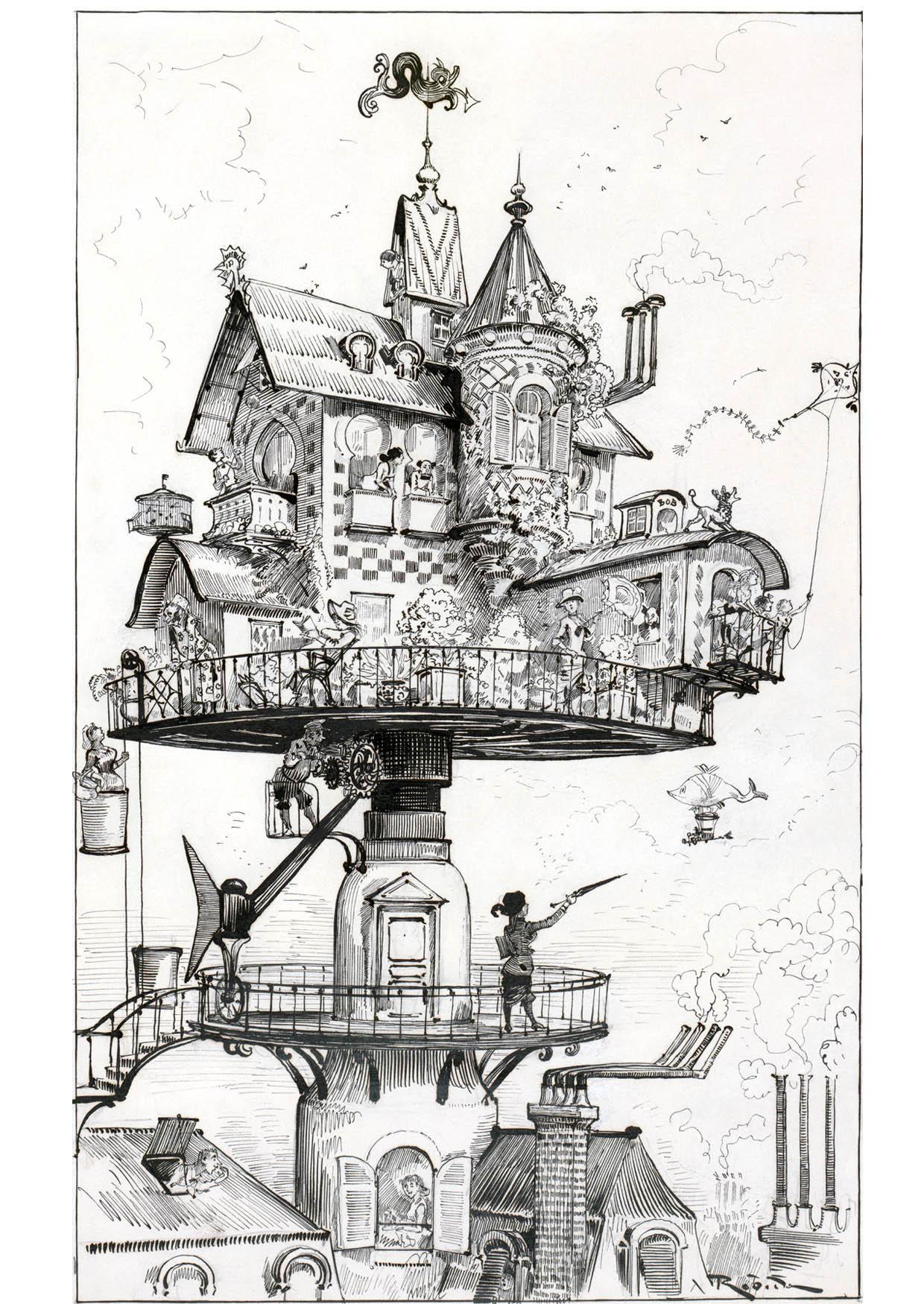Kleurplaat Huis Van De Toekomst 1883 Afb 14777