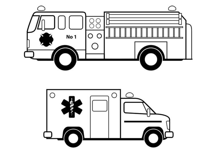 kleurplaat hulpdiensten afb 24631