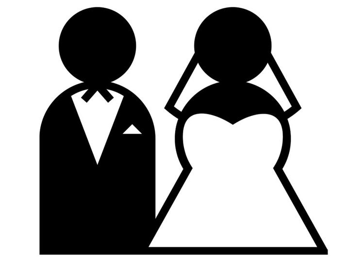 Afbeelding Hart Kleurplaat Kleurplaat Huwelijk Afb 20816