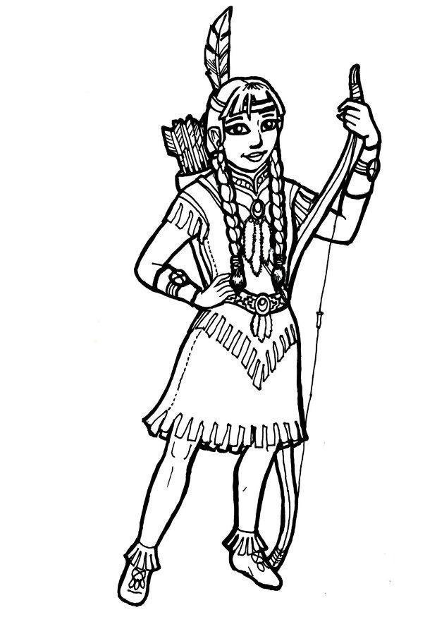 how to draw a first nation person