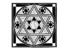 Kleurplaat joodse afbeelding