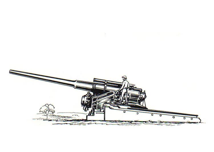 Kleurplaat Kanon Afb 18821 Images