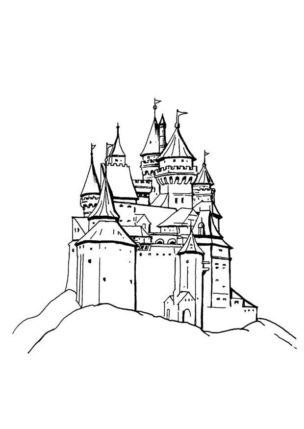 Kleurplaten Van Disneyland Parijs.Disneyland Parijs Tekening Archidev