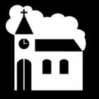 Kleurplaat kerk