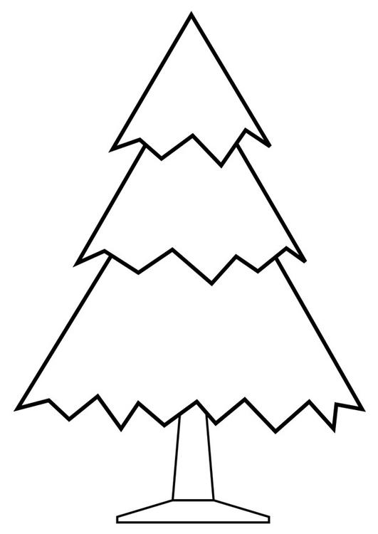 Kleurplaat Ster Kerst Kleurplaat Kerstboom Afb 28168
