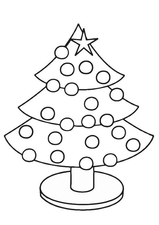 van sign writing templates - kleurplaat kerstboom afb 20390