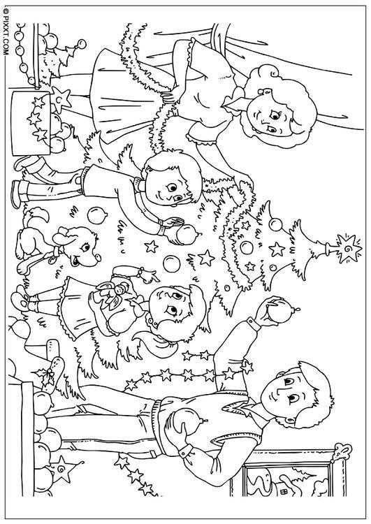 Kleurplaat Ster Kerst Kleurplaat Kerstboom Versieren Afb 28189