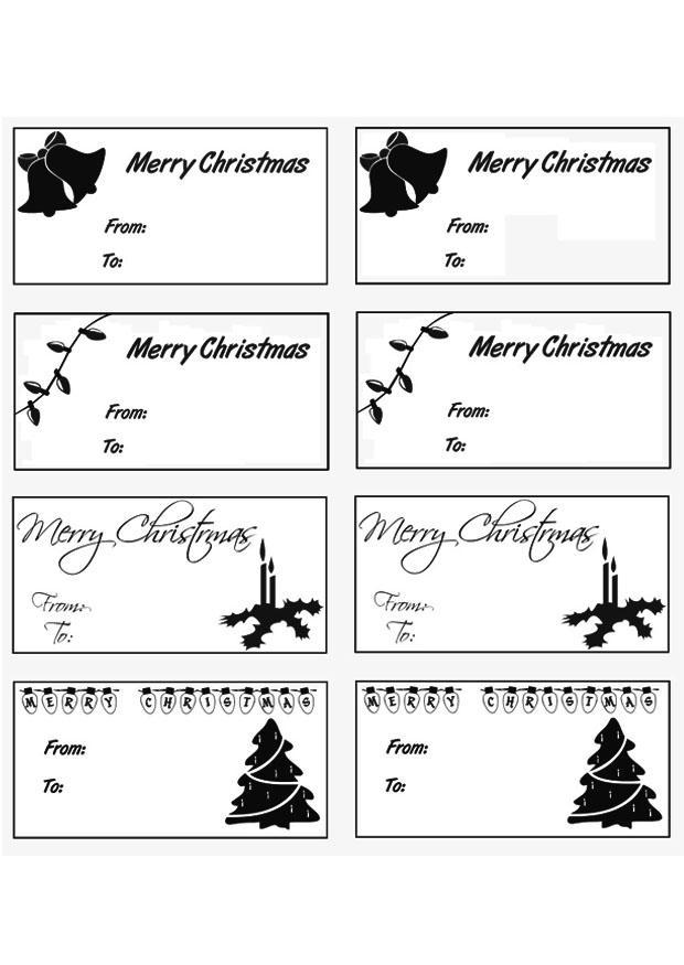 kleurplaat kerstgeschenk kaartjes gratis kleurplaten om