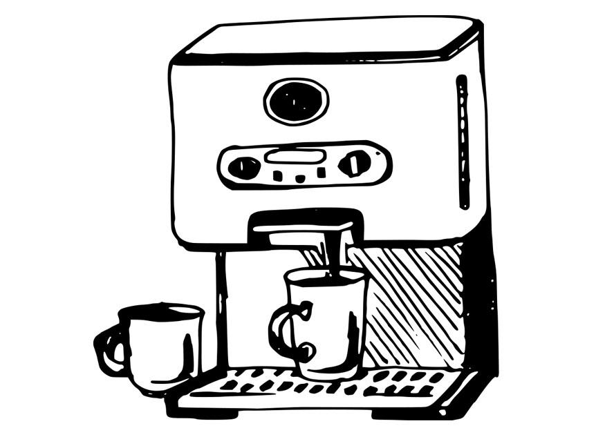 Starbucks Kleurplaat Kleurplaat Koffiezetapparaat Gratis Kleurplaten Om Te