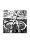 Kleurplaat 7 wereldwonderen - Kolossus van Rhodos