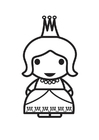 Kleurplaat koningin