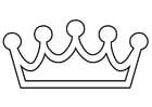 Kleurplaat kroon