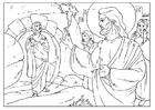 Kleurplaat Lazarus