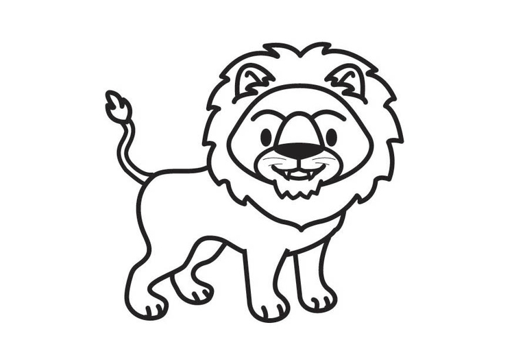 kleurplaat leeuw gratis kleurplaten om te printen