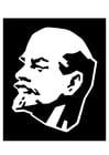 Kleurplaat Lenin