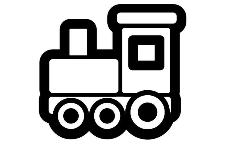 kleurplaat locomotief afb 28262