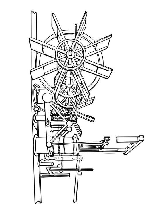 Kleurplaat Machine Kleurplaat Machine Van Stoomboot Afb 29607