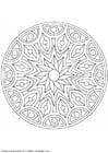 Kleurplaat mandala-1502m