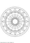 Kleurplaat mandala-1502x