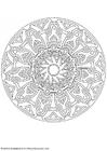Kleurplaat mandala-1702t