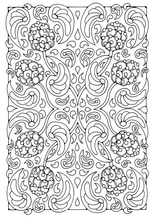 Kleurplaat Mandala 8a Afb 21904