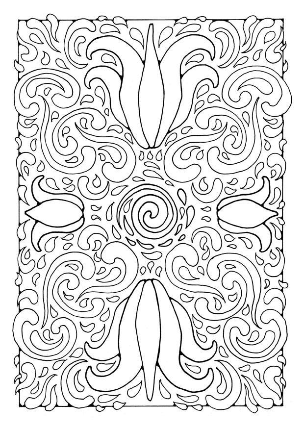 Volwassen Kleurplaat Patronen Kleurplaat Mandala1a Afb 21897