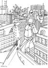 Kleurplaat manga - transformer