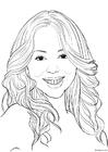 Kleurplaat Mariah Carey