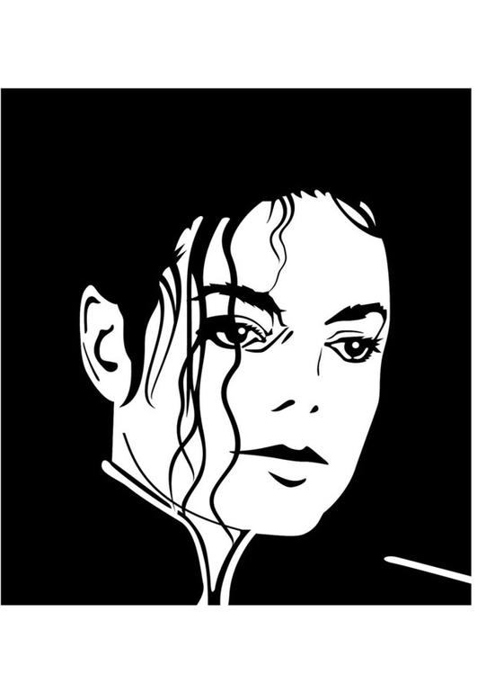 Kleurplaat michael jackson afb 24764 - Michael jackson coloriage ...