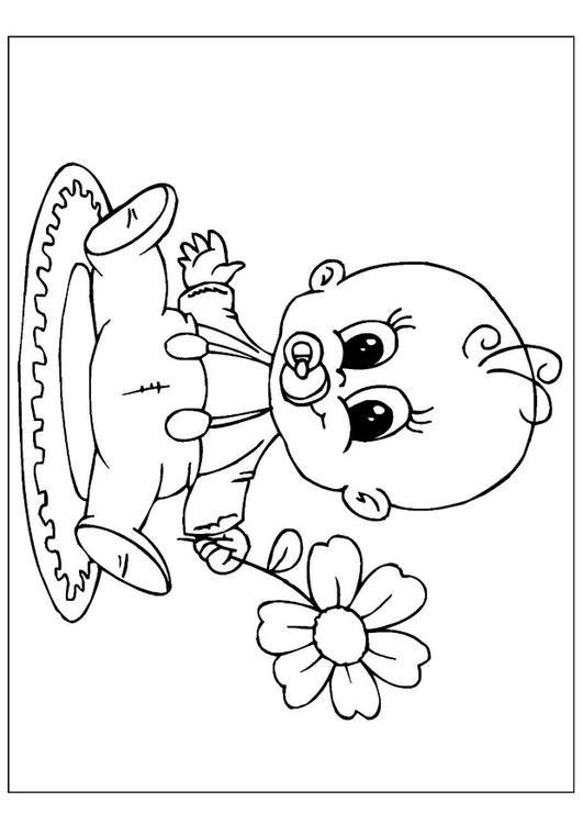 Kleurplaat Baby Geboren Algemeenfapblad