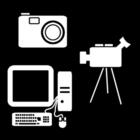 Kleurplaat multimedia