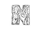 Kleurplaat newt