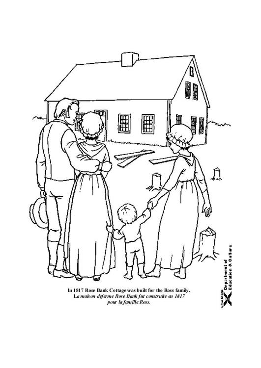 Kleurplaten Voor Een Nieuw Huis.Kleurplaat Nieuw Huis Afb 18230