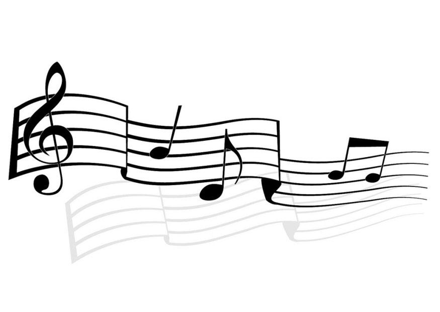 Картинки мелодий на листе