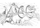 Kleurplaat Oddyseus - illustratie