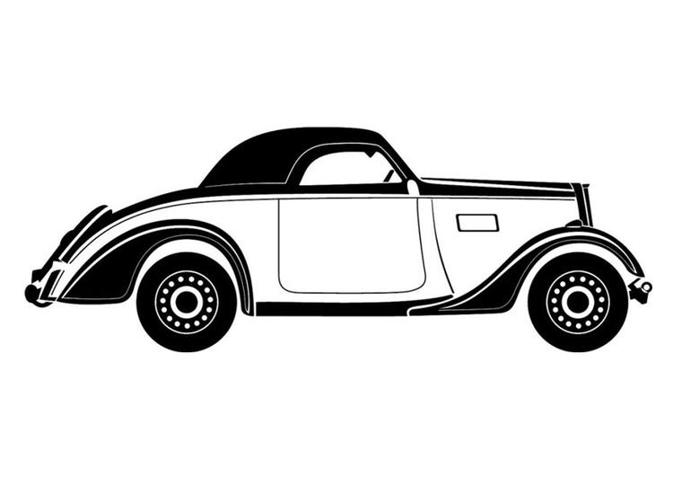 Kleurplaten Raceauto S Cars Kleurplaat Oldtimer Afb 24760 Images