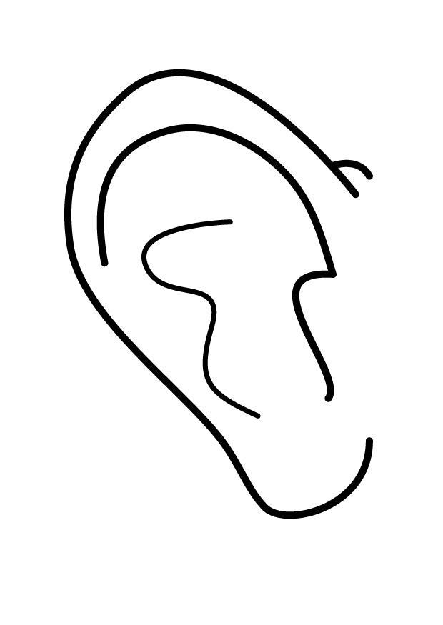 kleurplaat oor gratis kleurplaten om te printen