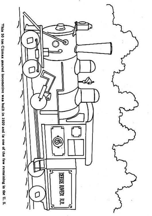 Afbeelding Auto Kleurplaat Kleurplaat Oude Trein Afb 3966