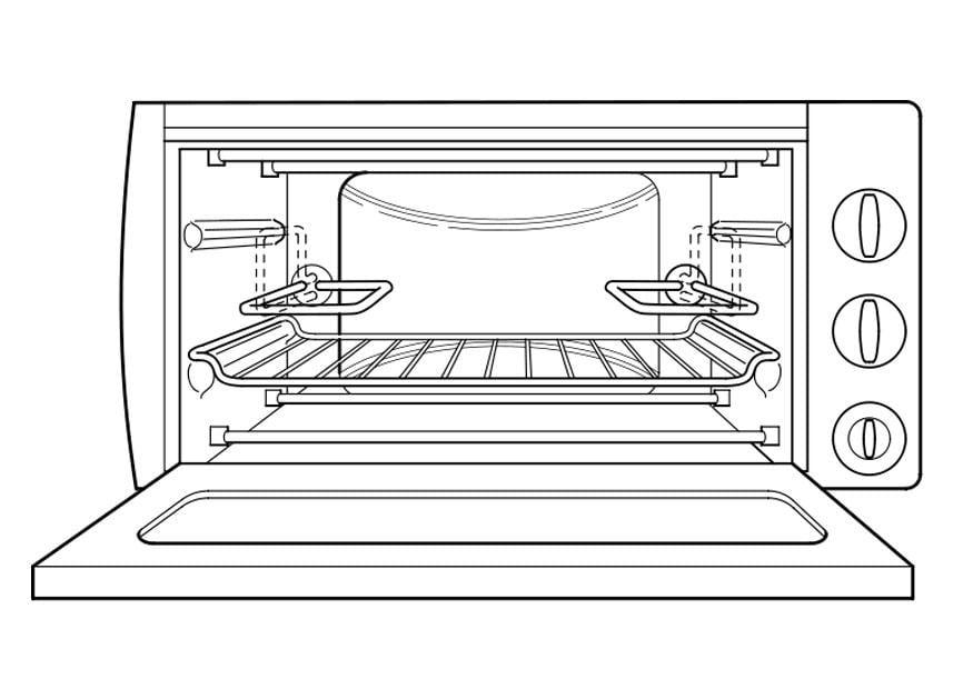 Oven Kleurplaat Kleurplaat Oven Afb 22206