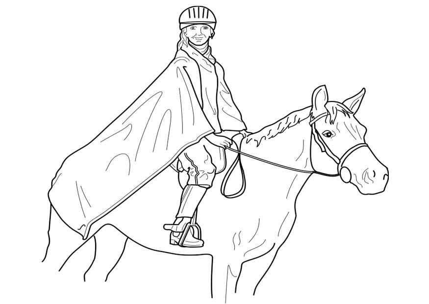 Kleurplaat Paardrijden Springen Kleurplaat Paardrijden Gratis Kleurplaten Om Te Printen