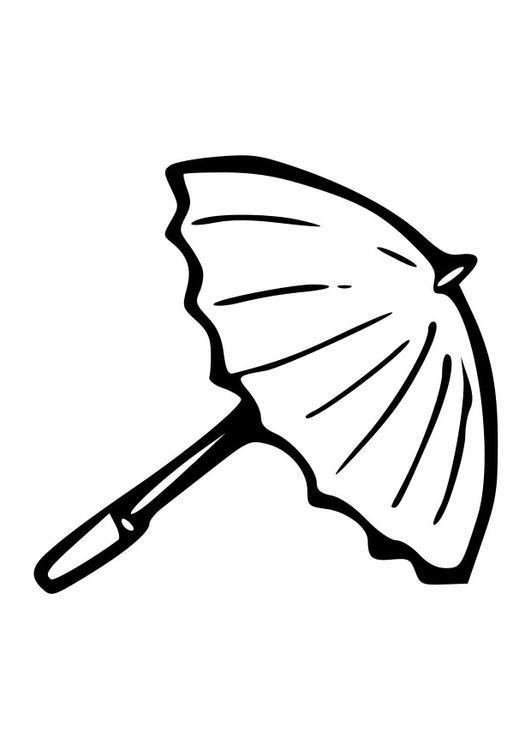 kleurplaat parasol gratis kleurplaten om te printen