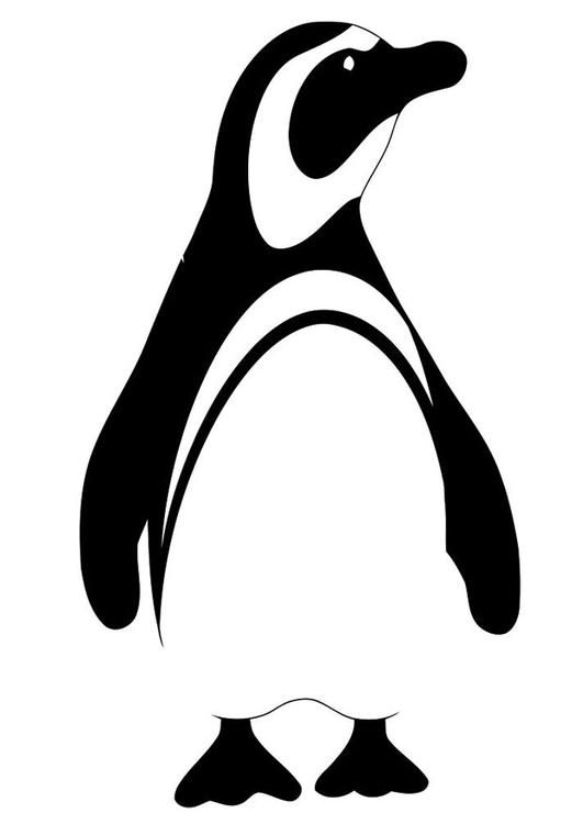 Tekening Pinguin Archidev