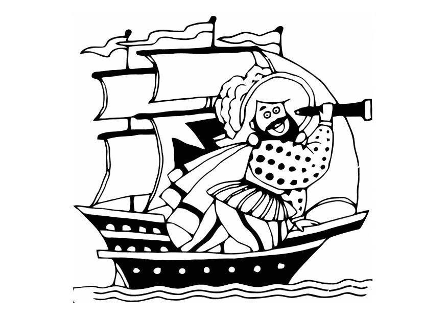 kleurplaat piraat gratis kleurplaten om te printen