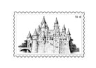 Kleurplaat postzegel 3
