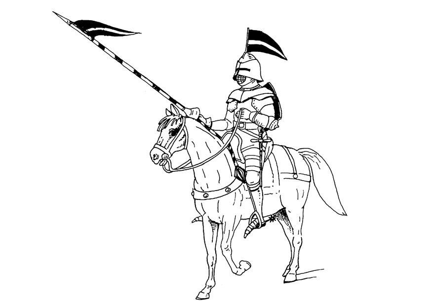 Kleurplaten Ridder Op Paard.Kleurplaat Ridder Te Paard Gratis Kleurplaten Om Te Printen